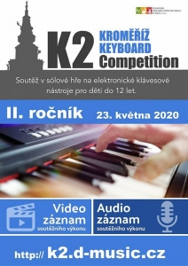 K2 Kroměříž Keyboard Competition 2020