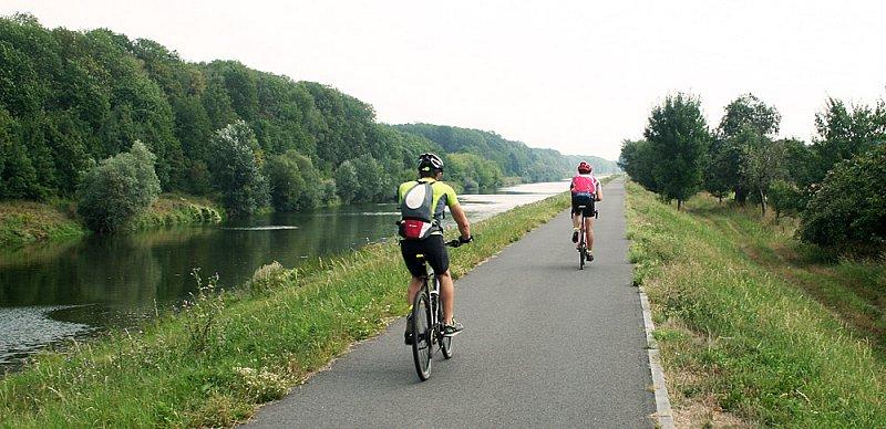 Cyklostezka číslo 47 směrem na Kvasice