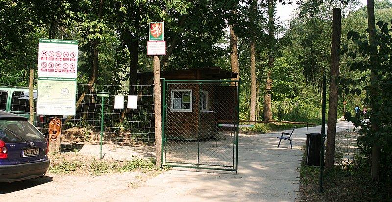 Vstupní brána do Kurovického lomu