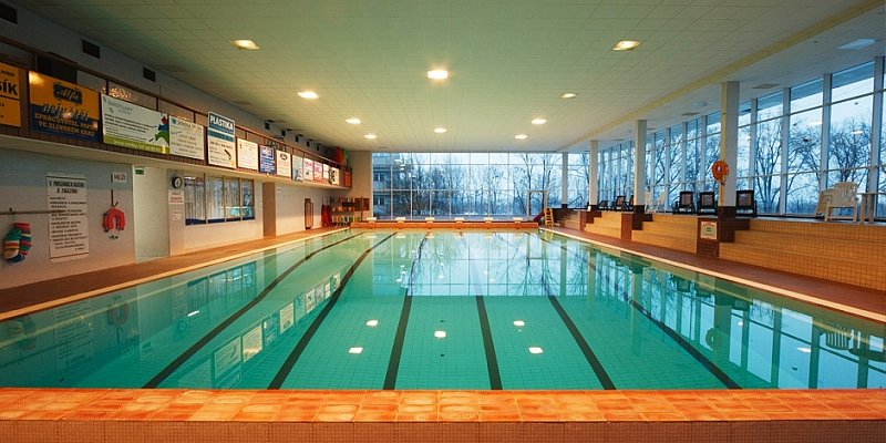 Kroměřížský krytý plavecký bazén - ve špatném počasí si zajděte zaplavat