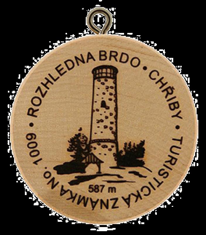 Turistické známky - Brdo - Chřiby