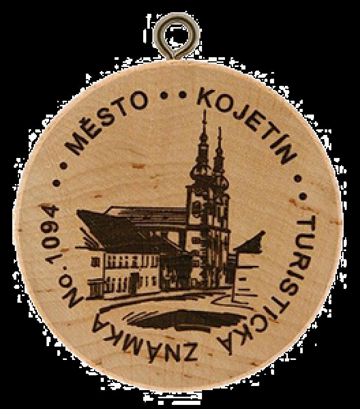 Turistické známky - Kojetín