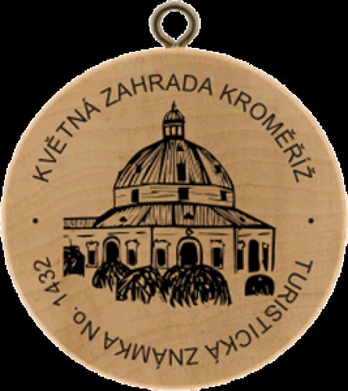 Turistická známka - Květná zahrada Kroměříž