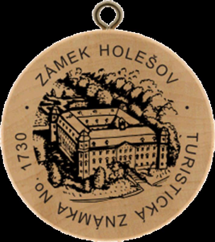 Turistická známka - Zámek Holešov