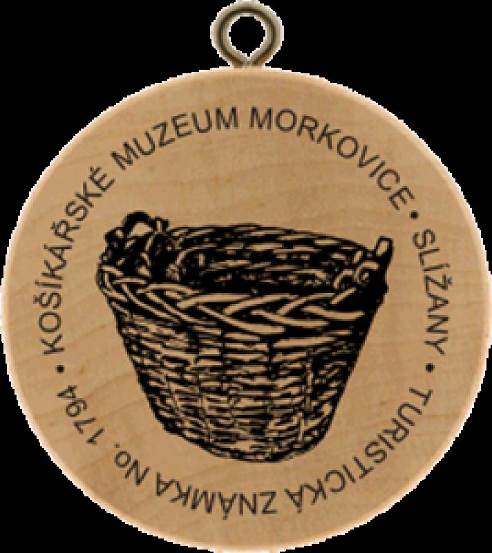 Turistická známka - košíkářské muzeum Morkovice - Slížany
