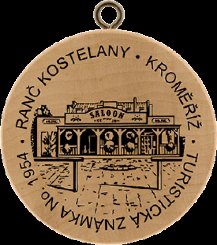 Turistická známka - Ranč Kostelany, Kroměříž