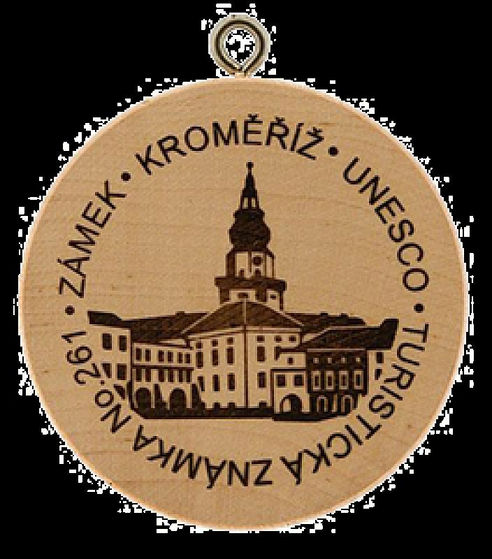 Turistická známka - Kroměříž UNESCO