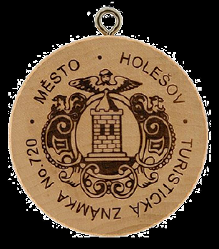 Turistická známka - Holešov